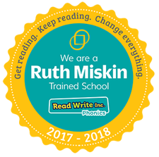 We are a ruth miskin trained school 2016 - 2017